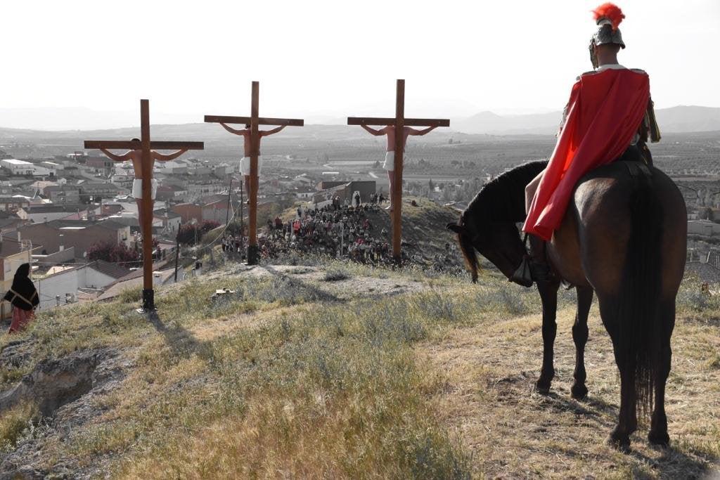 Conoce la Semana Santa Viviente de Cuevas del Campo