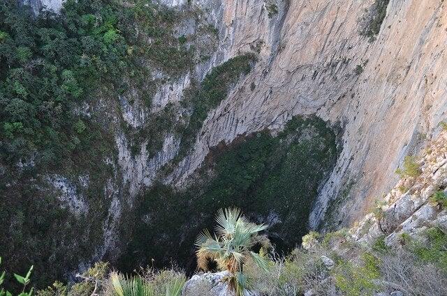 Vista del Sótano del Barro