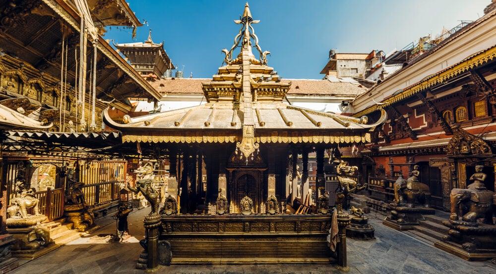 Templo de Oro en Patan