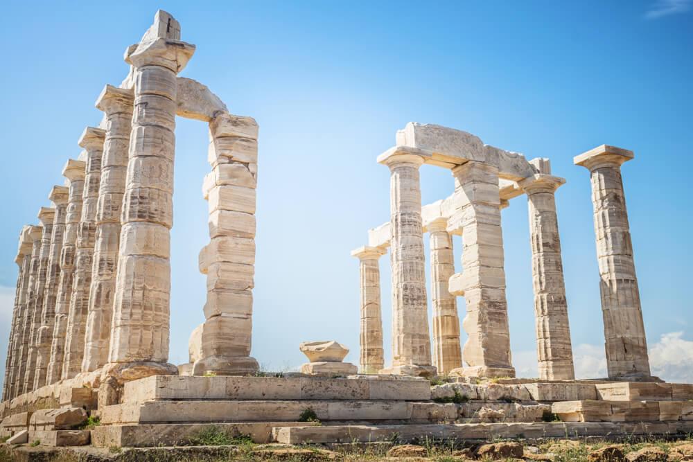 Templo de Poseidón en cabo Sunio