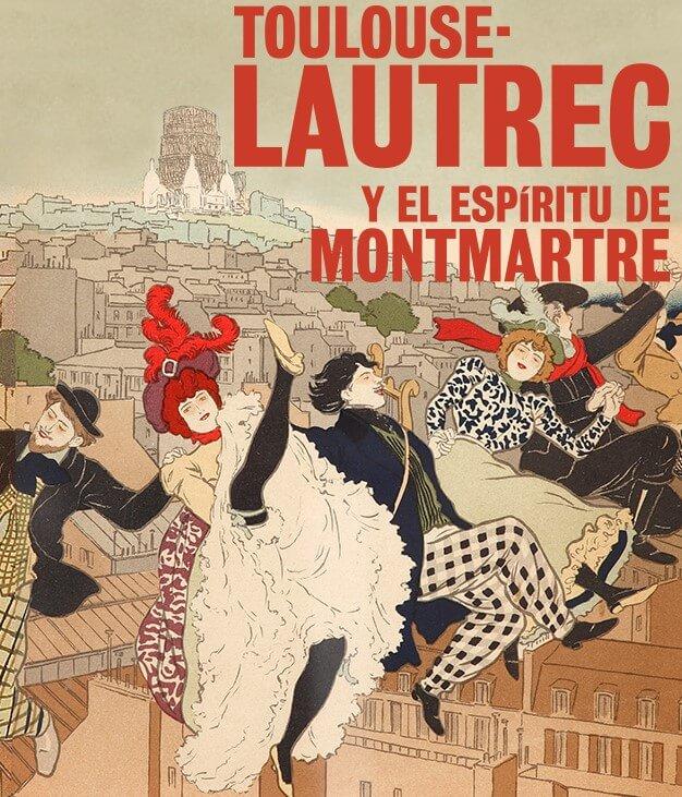 Cartel de Toulouse-Lautrec para una de las exposiciones temporales