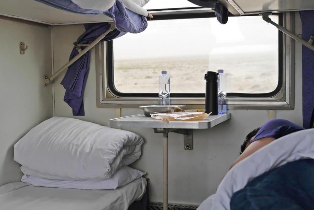 Tren cama para viajar barato