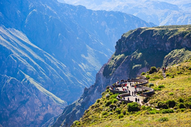 Viajamos al valle del Colca, el valle de las maravillas