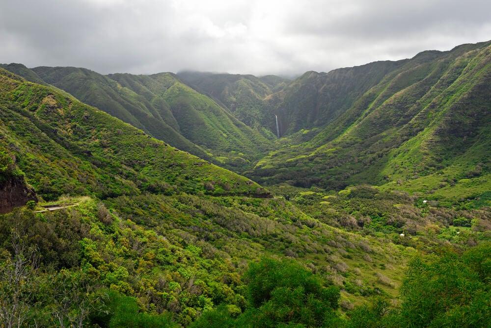 El valle de Halawa, perfecto para una caminata relajante