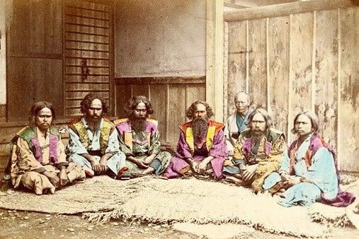 Los ainu, el pueblo indígena de Japón