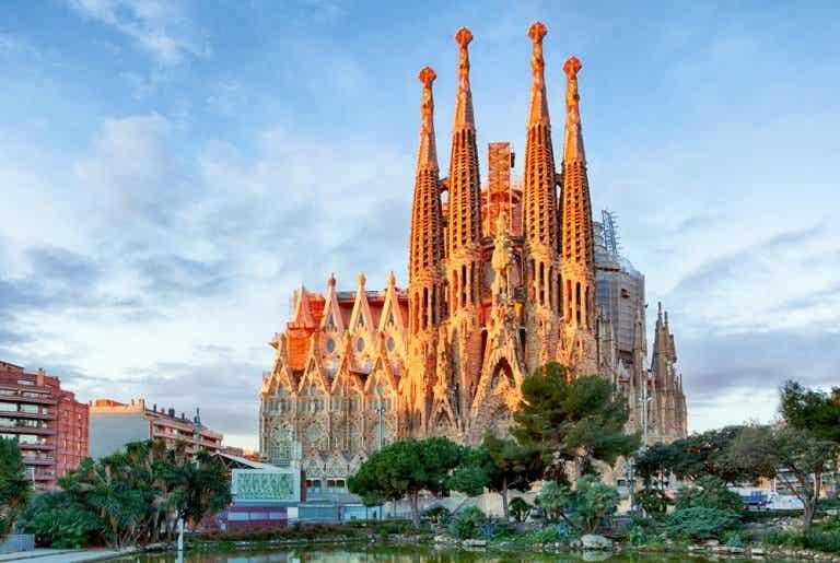 La arquitectura de la Sagrada Familia de Barcelona