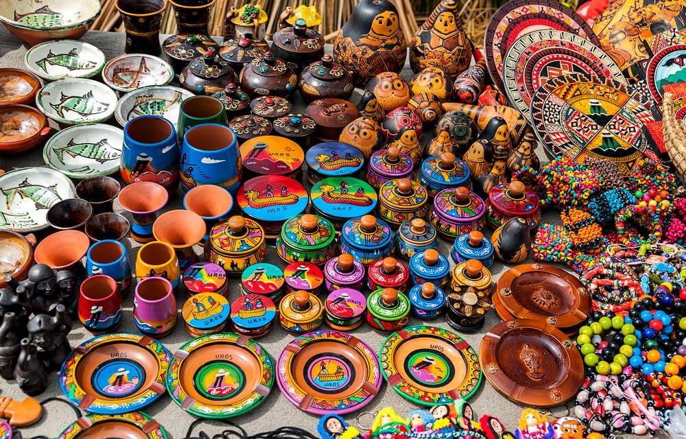 Puerto de Puno: conoce la feria artesanal más popular