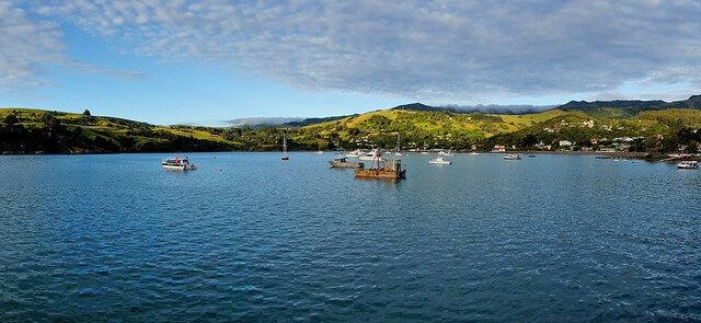Bahía de Akaroa