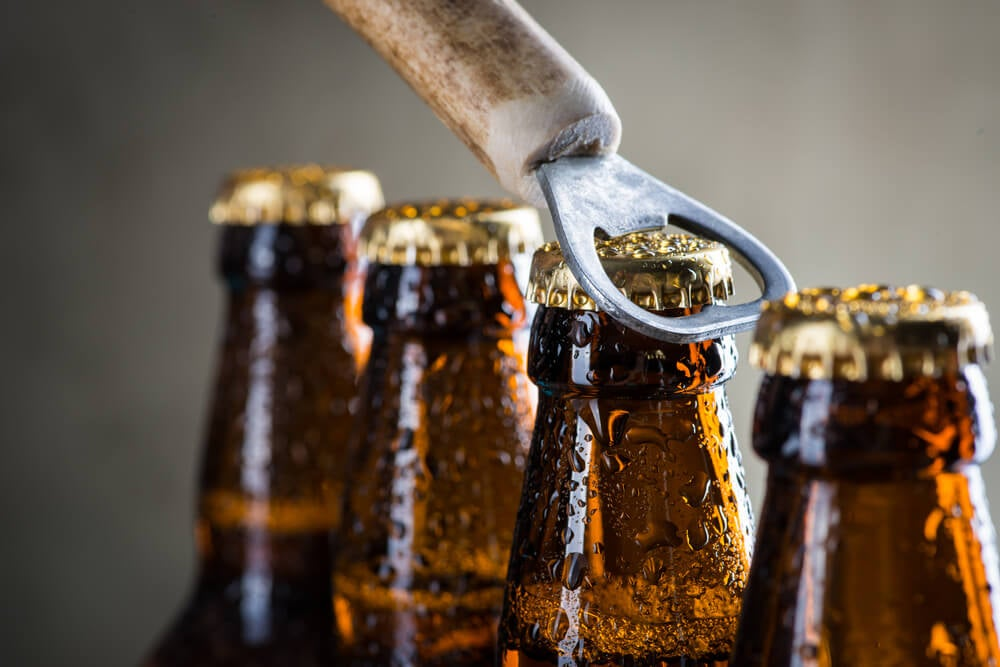 Botellas de las mejores cervezas del mundo