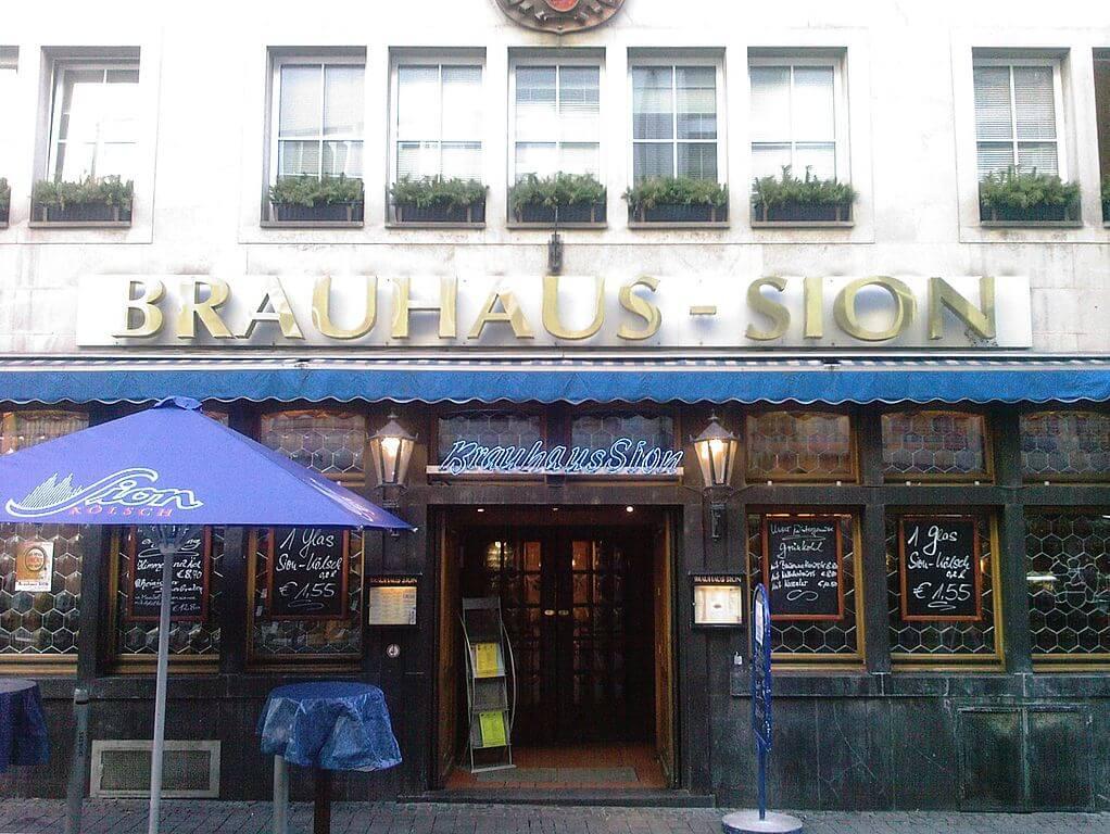 Brauhaus-Sion en Colonia