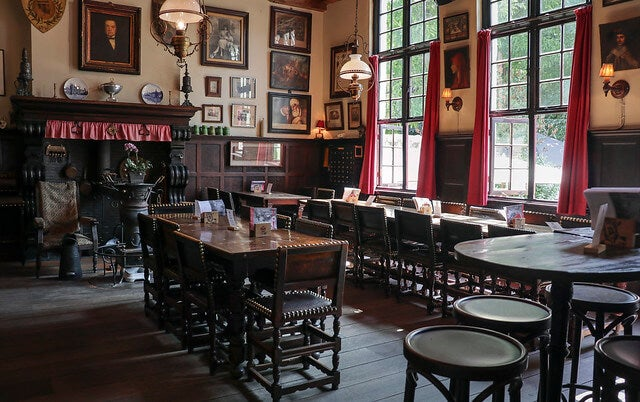 Café Vissinghle en Brujas