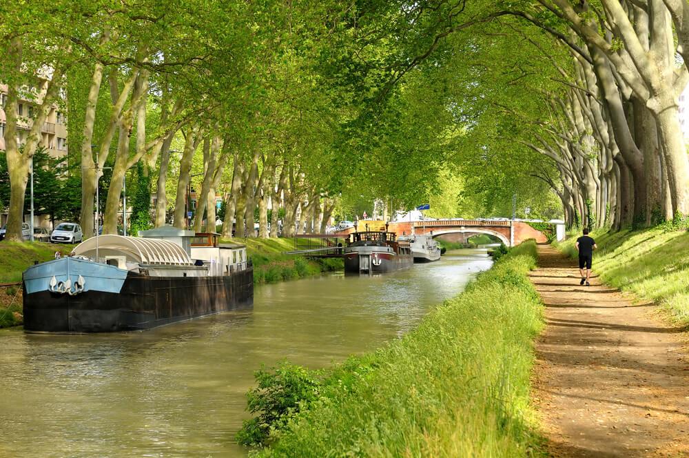 Vista del Canal de Midi