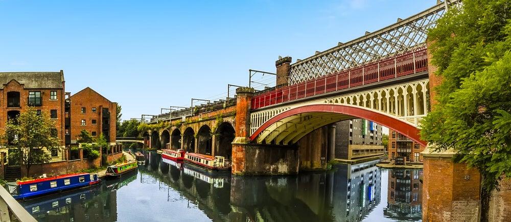 Canal en Manchester