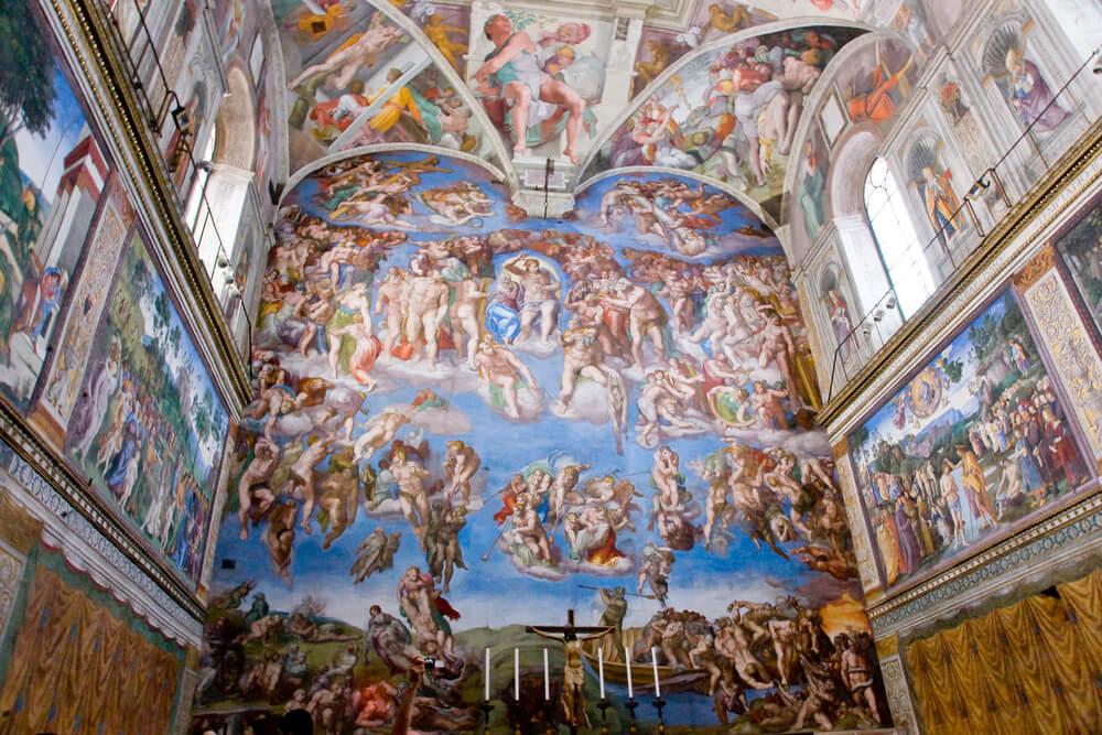 Frescos en la Capilla Sixtina