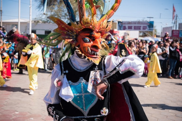 La Fiesta de La Tirana: el carnaval más grande de Chile
