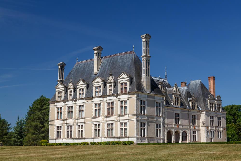 Exterior del castillo de Beauregard
