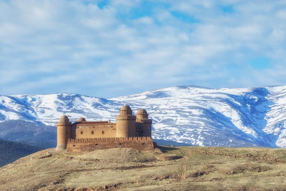 Un castillo italiano en Granada: el castillo de La Calahorra