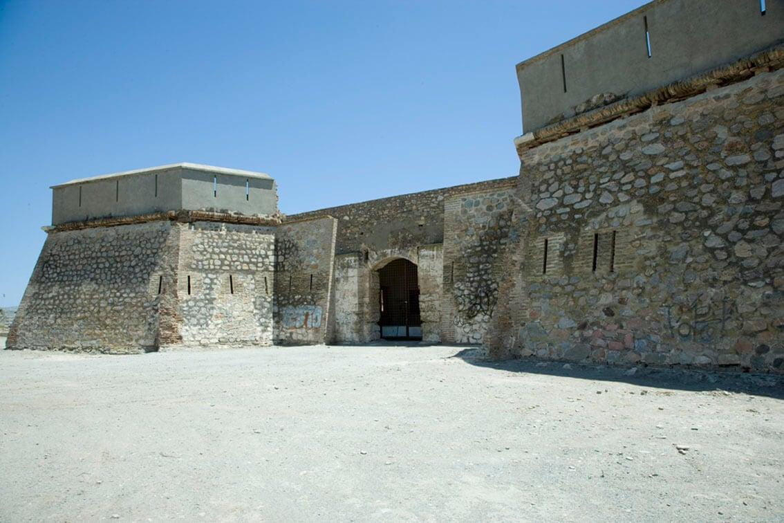 Castillos de la costa de Granada: castillo de Carchuna