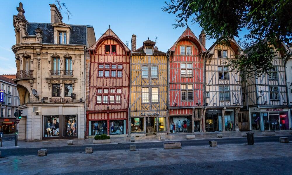 Centro histórico de Troyes
