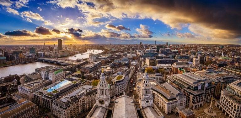 El mito del Londres lluvioso. ¿Llueve tanto?