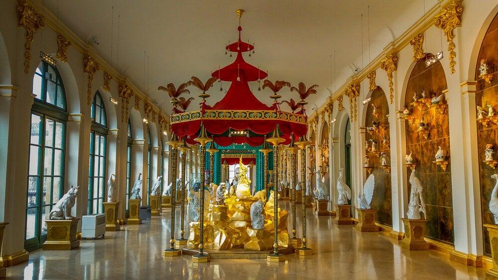 Colección de porcelana del palacio