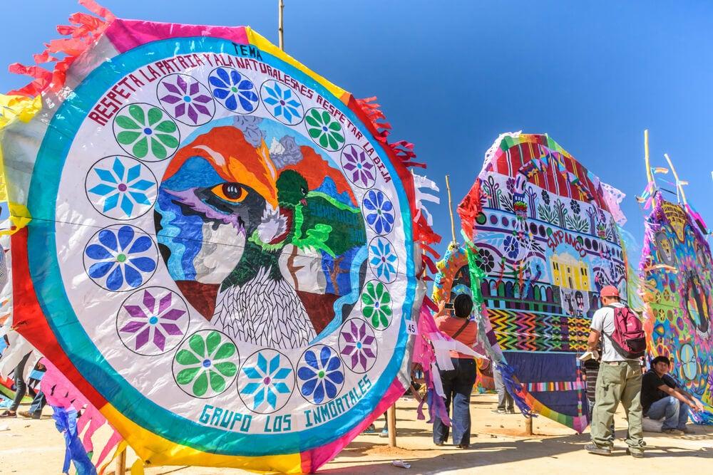 Festival de cometas en Sumpango