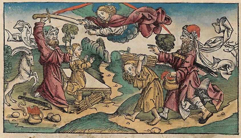 Grabado de las Crónicas de Núremberg