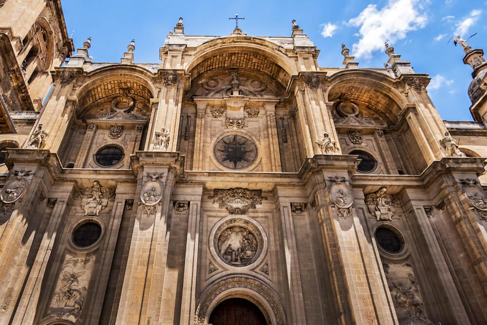 Detalle de la catedral de Granada