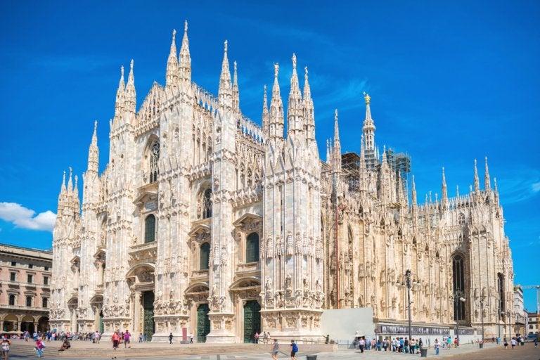 Visita la terraza panorámica del Duomo de Milán