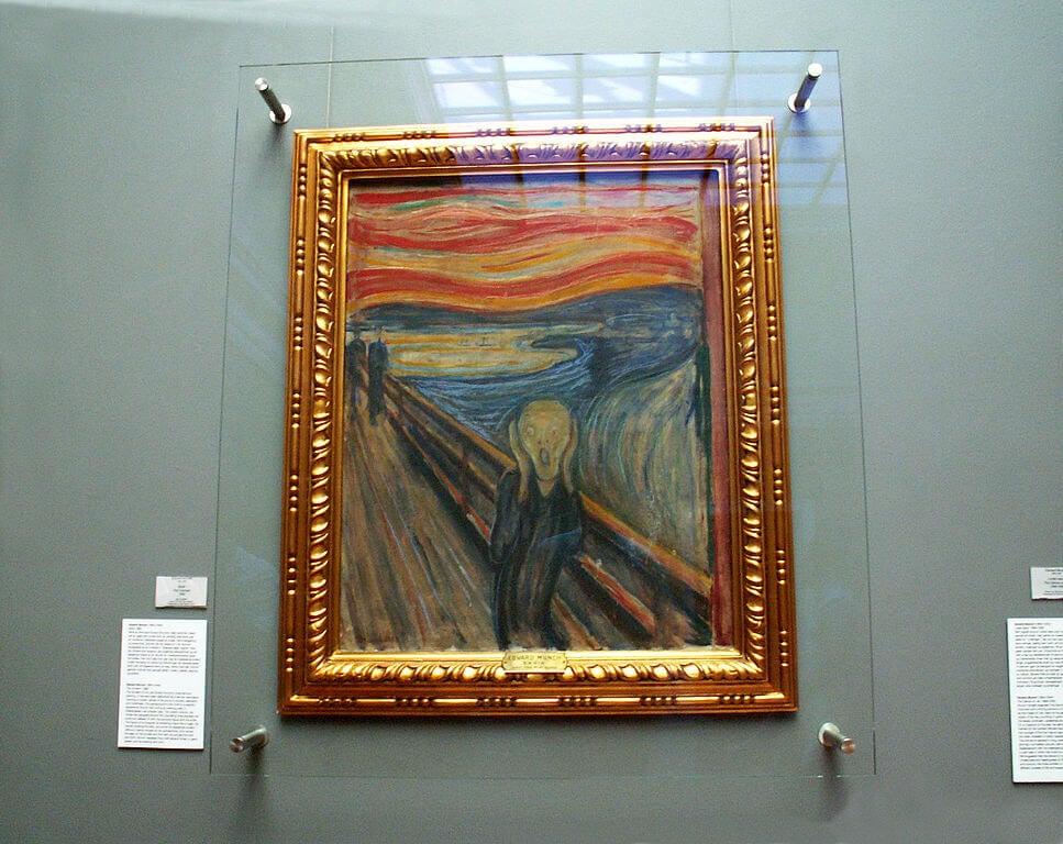 'El grito' de Munch,objeto de uno de los robos más famosos