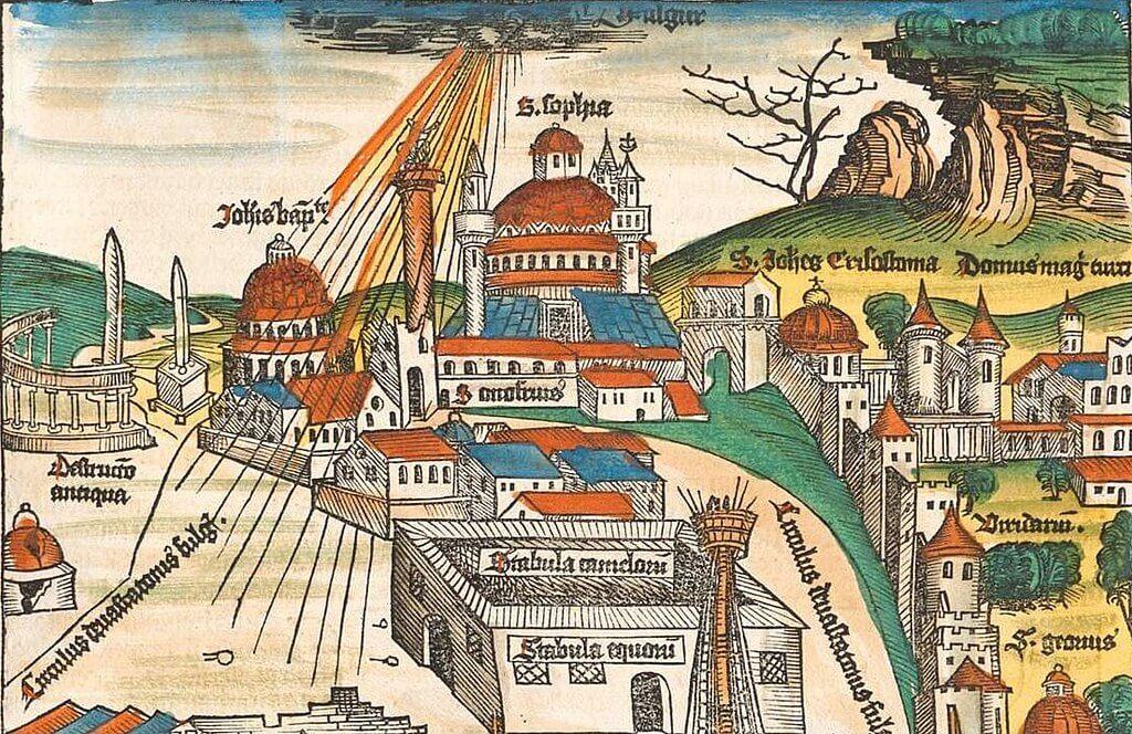 Xilografía de Estambul