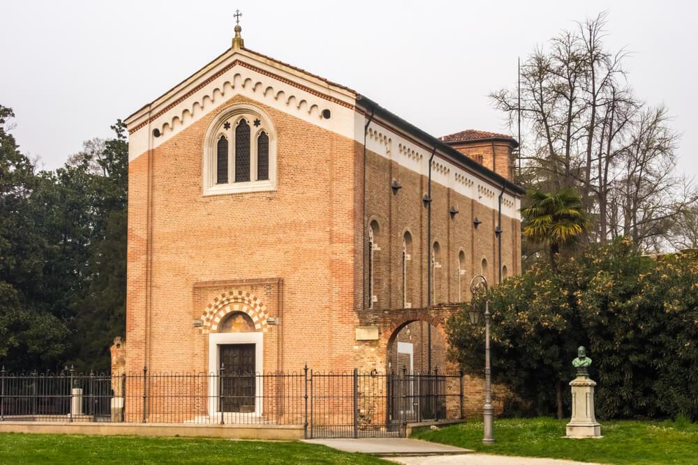 Exterior de la capilla Scrovegni