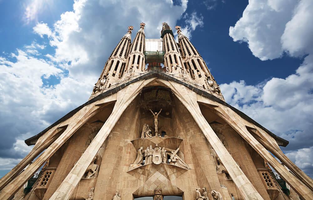 Fachada de la Sagrada Familia
