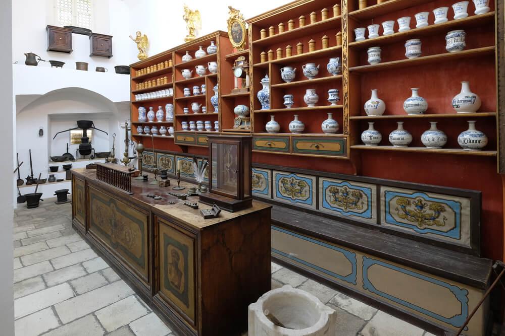 Farmacia del monasterio franciscano de Dubrovnik