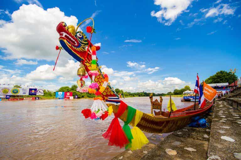 La fiesta de los Botes del Dragón, en China