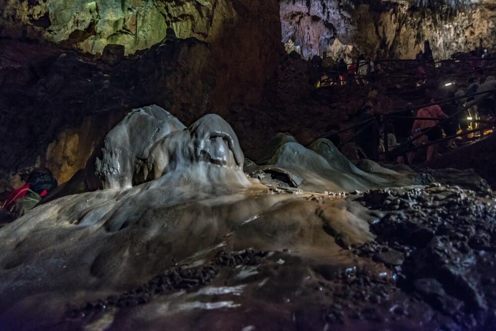Formación rocosa en Valporquero