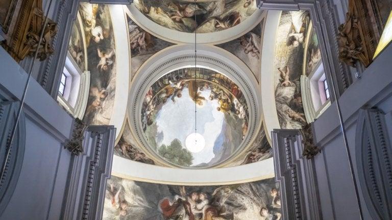 San Antonio de la Florida y los frescos de Goya