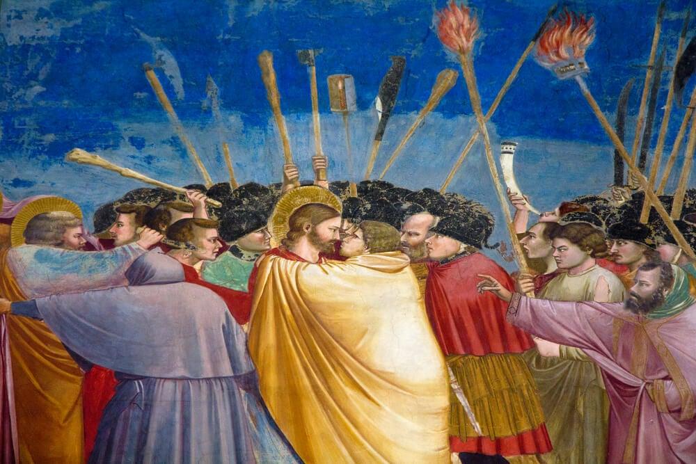 Detalle de los frescos
