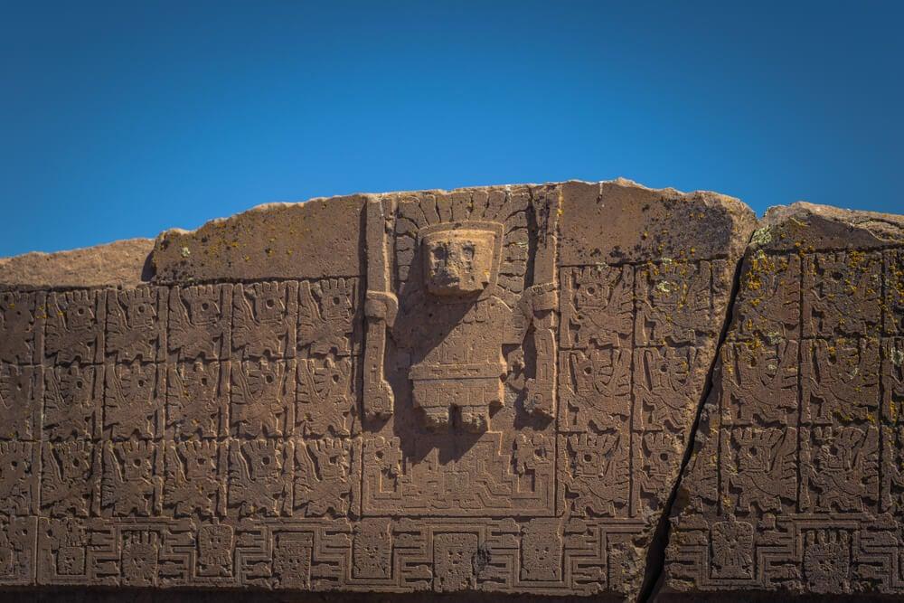 Friso en Tiwanaku