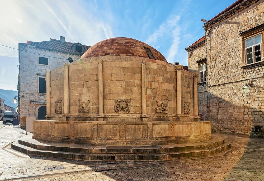 Fuente de Onofrio en Dubrovnik