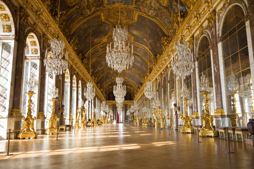 Galería de los espejos en Versalles