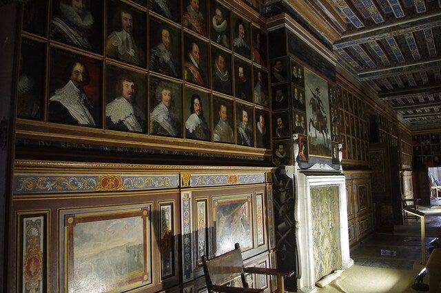 Galería de Retratos del castillo
