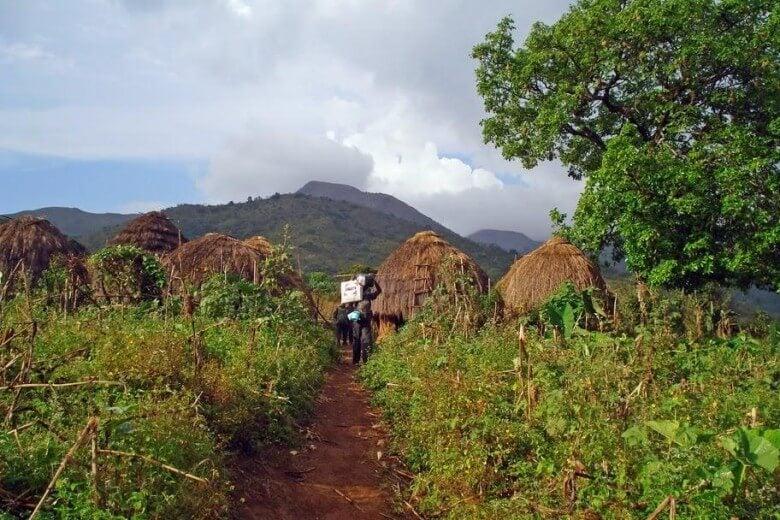 Parque Nacional Gashaka-Gumpti en Nigeria