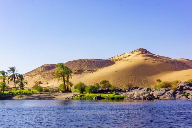 La geografía de Egipto, clave para la formación de su cultura