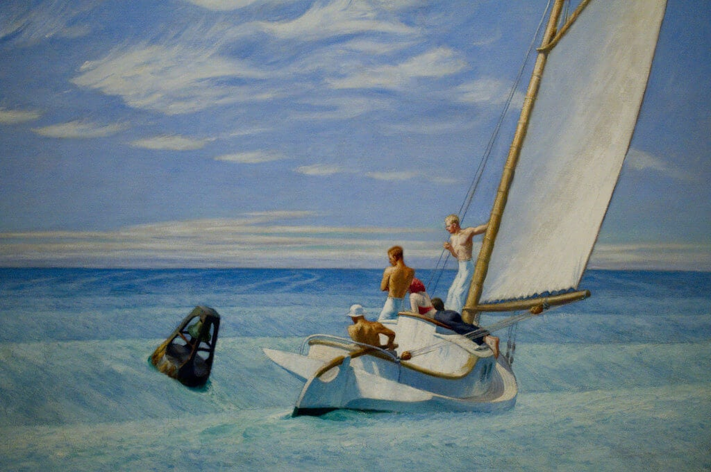 Cuadro 'Ground Swell' de Hopper