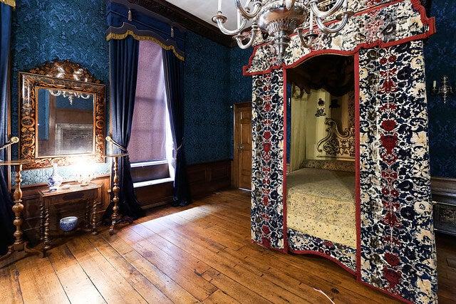 Habitación de la Reina en el palacio de Kensington