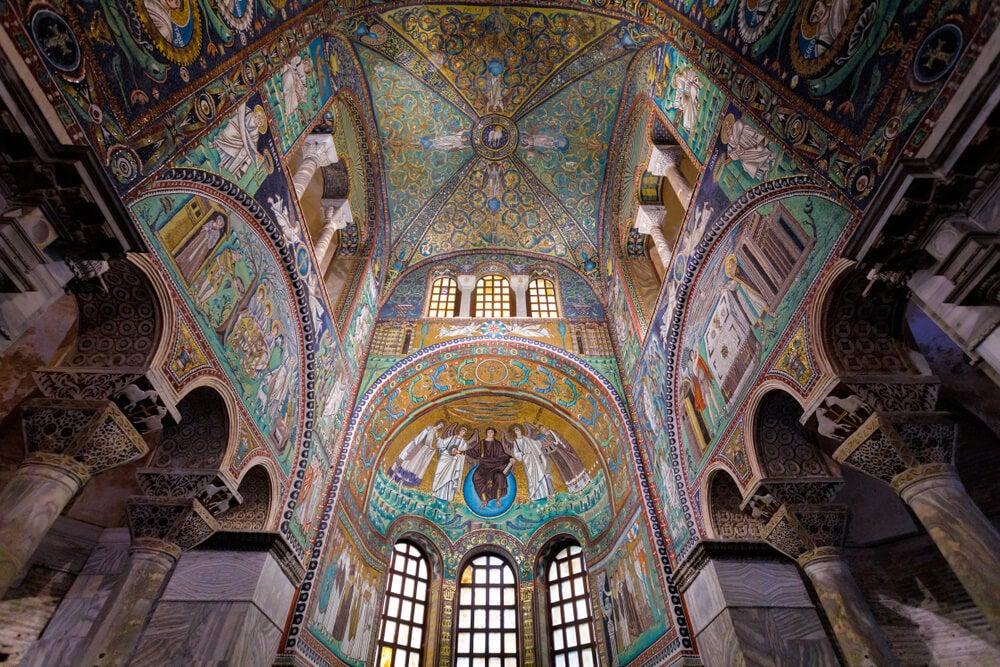 Los famosos mosaicos de la ciudad de Rávena