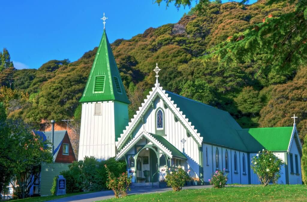 Iglesia de St. Patrick en Akaroa