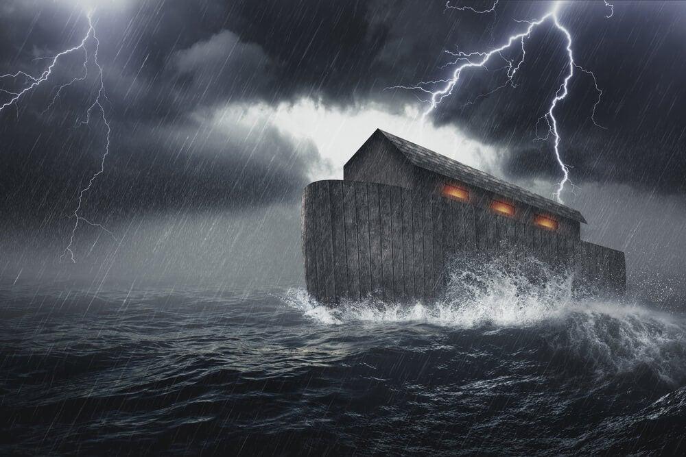 Ilustración del Diluvio Universal