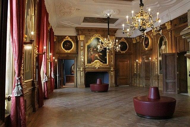 Interior de la Galería Mauritshuis
